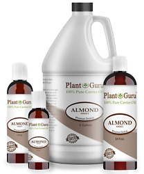 Sweet Almond Oil 100% Pure Organic Carrier For Skin Face Hair Growth  $5.95