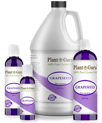 Grapeseed Oil Cold Pressed 100% Pure Organic Extract For Skin Face Hair Massage $6.95