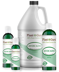 Avocado Oil Cold Pressed 100% Pure Organic For Hair Skin 2 oz to 7.5 lbs Bulk $44.95