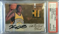 2007 FLEER HOT PROSPECTS AUTO KEVIN DURANT ROOKIE PSA 10 (NICE CARD) LOW POP