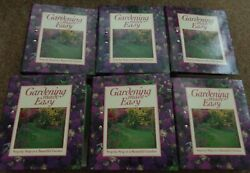 Gardening Made Easy - Step-by-Step to a Beautuful Garden (6 FULL Binders)