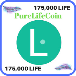 175000 PureLifeCoin (LIFE) CRYPTO MINING CONTRACT 175000 LIFE Crypto Currency