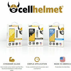 Cellhelmet Liquid Glass Screen Protection W$300 Guarantee Works with all phones