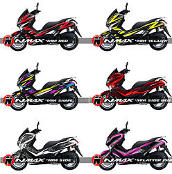 Yamaha N-Max Graphic Decal Sticker Kit Vinyl Wrap N Max NMax MBK Ocito 125 155