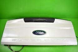 2017 - 2018 Ford F250SD White Tailgate Chrome Handle Rearview Camera Hitch Light