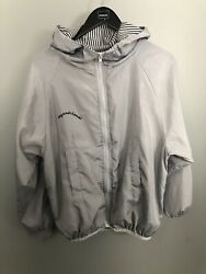 She In Gray Sport Workout Exercise Zipper Jacket Graphic Raincoat Hoodie