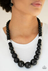 Paparazzi jewelry Wooden Bead Necklace Choice of Style with earrings NEW