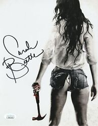 Sarah Butler Autograph 8x10 I Spit in your Grave Photo Signed JSA COA 2