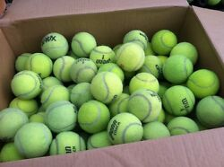 40 Used Tennis Balls for Schools Chairs & Dog Toys