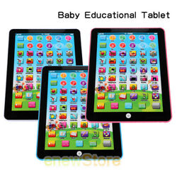 Baby Tablet Educational Toys Girls Toy For 1-6 Year Old Toddler Learning English $11.61