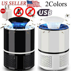 USB Electronic Bug Insect Mosquito Killer Lamp Mosquito Trap Inhaled LED Light $14.99