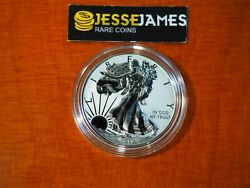 2019 W ENHANCED REVERSE PROOF SILVER EAGLE FROM PRIDE OF NATIONS ONE COIN IN CAP $139.00
