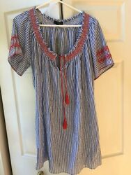 J crew Embroidered cover up xs $30.00