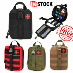 First Aid Kit Tactical Medical Tactical Survival Kit Molle EMT Pouch Bag IFAK US