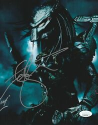 Ian Whyte Autograph 8x10 Predator Photo Alien Vs Predator Signed JSA COA