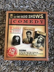Old Time Radio Comedy 4 CD Set NEW Sealed [Amos N Andy Fibber McGee Fred Allen]