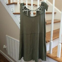 Anthropologie oversized knit tank size small $20.00