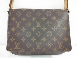 Auth LOUIS VUITTON Musette Tango Short Strap M51257 Monogram SP0969 Shoulder Bag