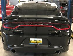 2015-2019 Dodge Charger Taillight & Side Markers Smoke PreCut Vinyl Tint Kit