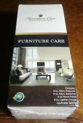 Furniture Protection Plan Care Kit Leather Fabric ProtectorRefresh Wood Polish