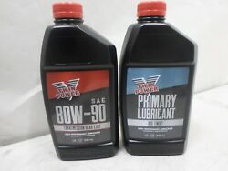 Premium Twin Power 80W 90 Transmission Oil Change Primary Oil Harley $12.00