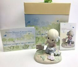 Precious Moments Figurine: Sow Much To Do Garden Till Your Heart#x27;s Content. $34.99