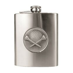 Golf Flasks Stainless Steel Flask 8oz Party Whiskey Alcohol Vodka Wine