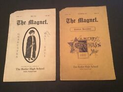 (2) Vintage Butler Pa High School Yearbooks ( 1911 )