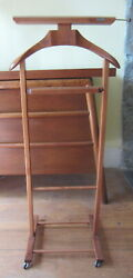 Vintage FRATELLI REGUITTI Wooden Valet Made in Italy