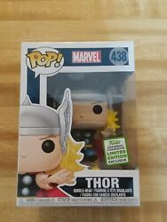 Funko Pop Marvel Thor #438 ECCC 2019 Spring Convention Limited Edition Exclusive