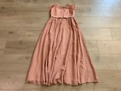 Sittingley Fancy Girls First Holy Communion Dress Size 12 13y Pink Wedding Party $19.99