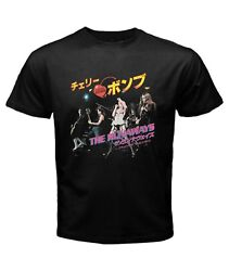 THE RUNAWAYS Tokyo Tour Cherry Bomb rock band Men's New T shirt S to 3XL