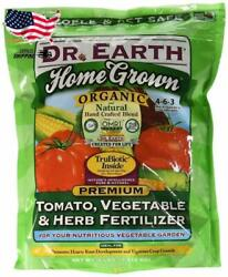 Dr. Earth Organic 5 Tomato Vegetable amp; Herb Fertilizer Home Grown 1Lb 4Lb Bag $17.74