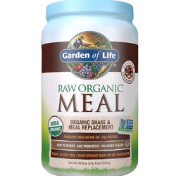 Raw Organic Meal Shake Meal Replacement 28 Servings by GARDEN OF LIFE-4 Flavors