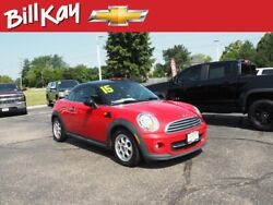 2013 MINI Coupe -- 2013 MINI Coupe  60311 Miles Red Cooper 2dr Coupe  6-Speed Manual