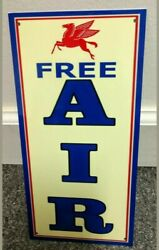 Mobil Free Air Sign Gas Gasoline Oil