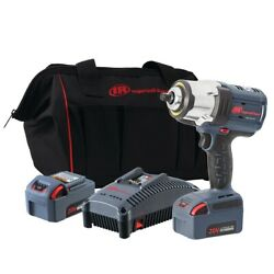 Ingersoll Rand W7152 K22 1 2quot; IQV20 High Torque Impact Wrench 2 Battery Kit $454.00