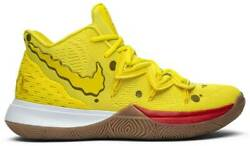 2019 Nike Kyrie 5 SpongeBob SquarePants Yellow New IN STOCK MEN