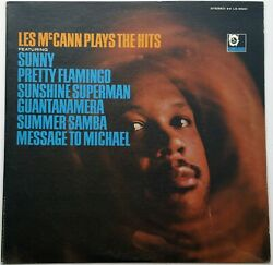 Northern 60's Soul LP-Les McCann-Plays The Hits-US Limelight records
