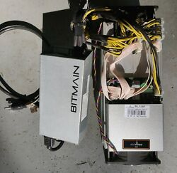 BITMAIN ANTMINER S9 13.5T CRYPTO MINER wPOWER SUPPLY - FREE SHIPPING $199.99