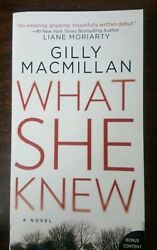 What She Knew : A Novel by Gilly Macmillan (2018 Paperback)