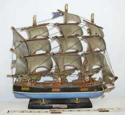 FLYING CLOUD TALL SHIP WOODEN STATIC MODEL