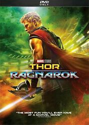 Thor: Ragnarok (DVD 2018) Free shipping with USPS First Class