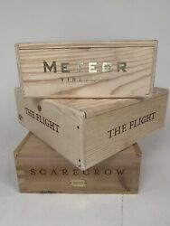 Wooden wine Box Crate