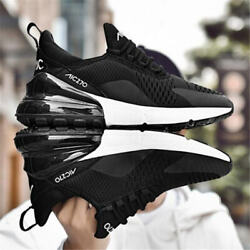 Men's Unisex Sneakers Running Shoes Air Max 270 Breathable Trainers Sport Shoes