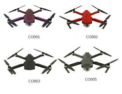 for RC DJI Mavic Pro Drone Quadcopter Carbon Fiber Stickers Decal Skin Protector $12.33