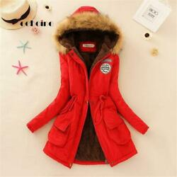 Echoine Faux Fur Coats Women Long Sleeve Hooded Neck Zipper Button Plus Size Cas