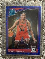 🔥🔥🔥 2017-18 Rated Rookie Optic Prizm Wendall Carter Jr Bulls