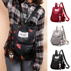 Exquisite Women Fashion School Backpack Travel Waterproof Satchel Shoulder Bag