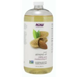 Now Foods Sweet Almond Oil - 32 Oz. made in USA FREE SHIPPING $19.95